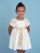 Satin girl dress