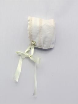 Capota tela con puntilla