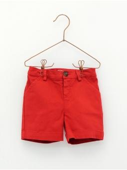 Pantalón niño corto de loneta