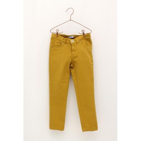 Five-pocket basic boy trousers