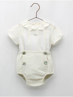 Baptism baby boy set