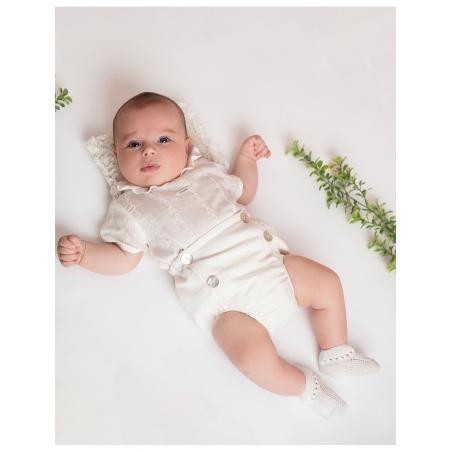 Baptism baby boy set