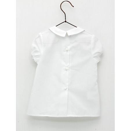 Baby boy shirt with shirt collar