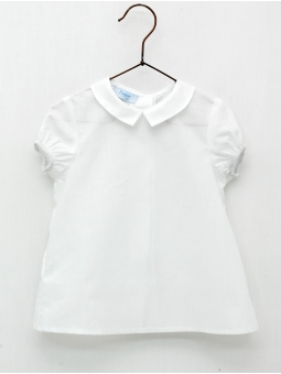 Baby boy shirt with shirt collar