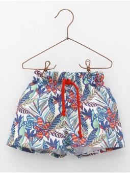 Tropical pattern boxer