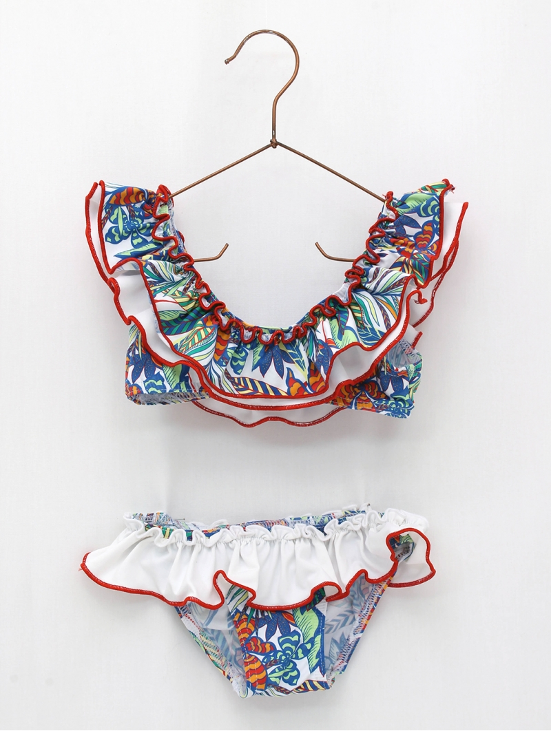 Tropical collection bikini