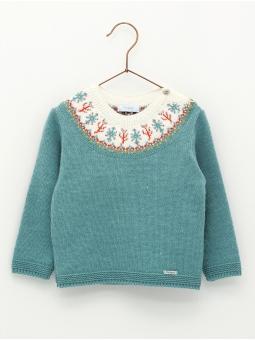 Bushes fretwork sweater