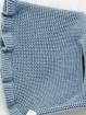 Organic cotton knit baby bonnet