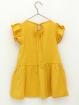 Circular knit girl dress