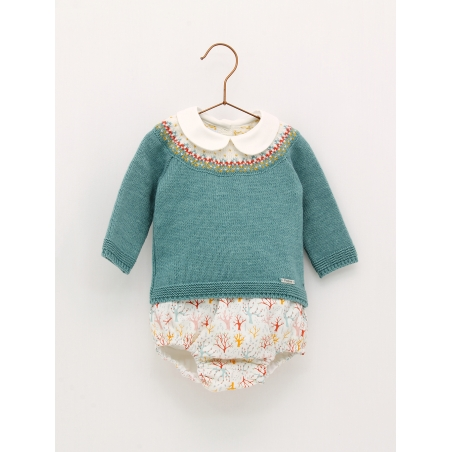 Sweater and bloomers bushes set