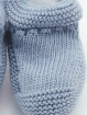 100 % organic cotton knitted booties