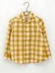 Gingham Safari boy shirt