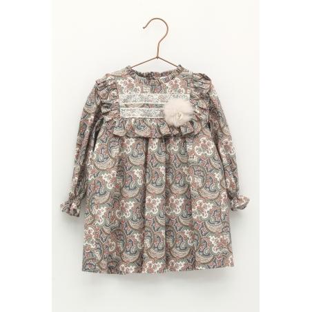 Cachemire pattern dress
