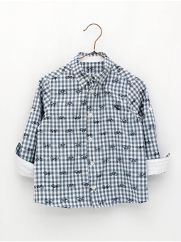 Bike print boy shirt