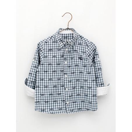 Bike print boy shirt