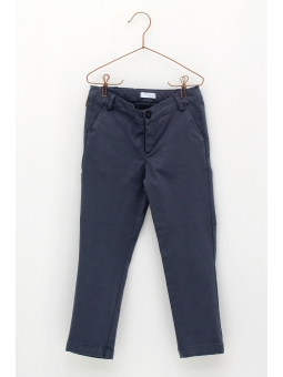 Basic canvas trousers for boy