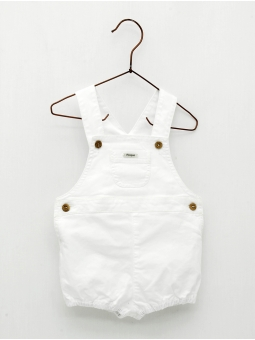 Canvas baby overall