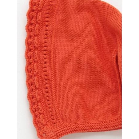 Open stitch bonnet