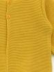 Long garter stitch boy-girl cardigan