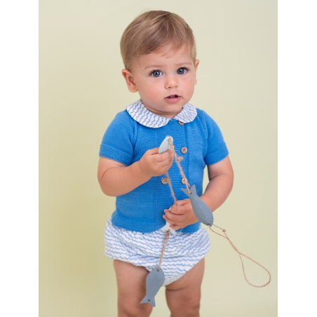 Baby boy jumper and shorties