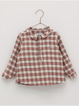 Camisa cuadros bambula