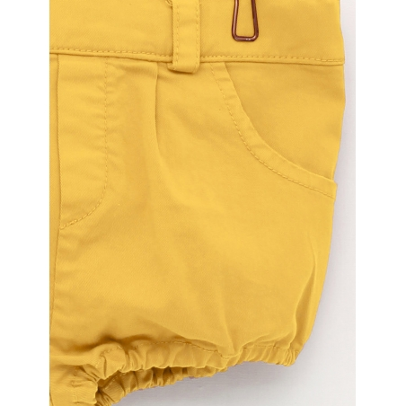 Canvas bloomer shorts in several colours