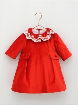 Velvet girl dress