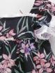 Flowered girl dress