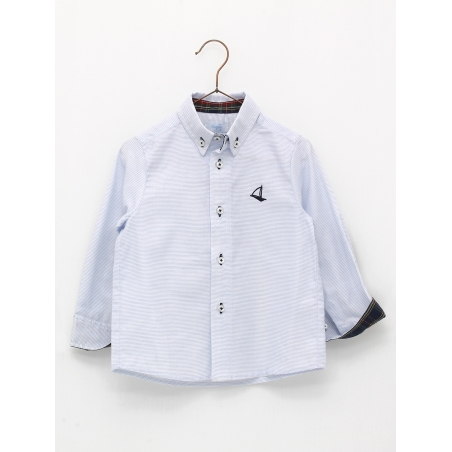 Classic style shirt with elbow patches