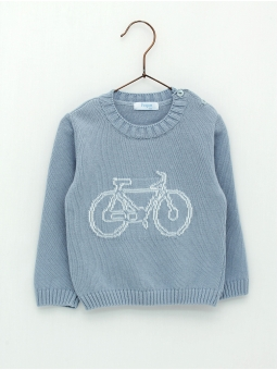 Bike drawing baby jumper