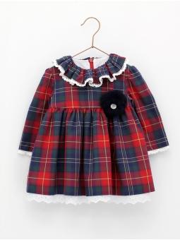 Tartan checked dress