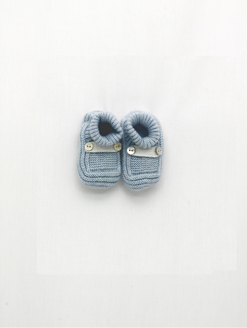 Booties with belt loops and buttons