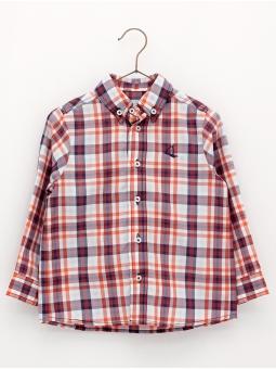 Camisa corte clássico quadros
