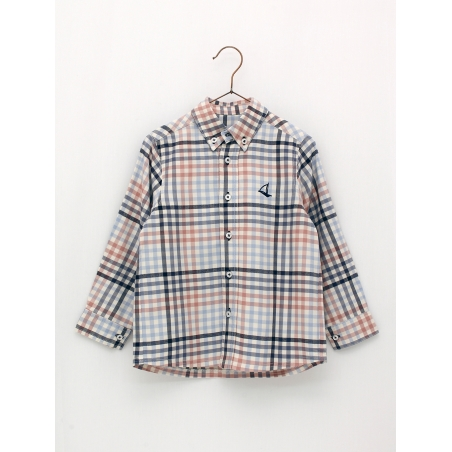 Classic style checked shirt