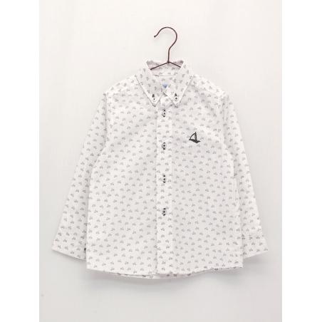 Classic style vespas shirt