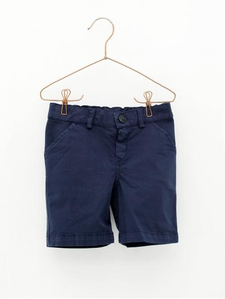 Canvas 4-pocket boy shorts