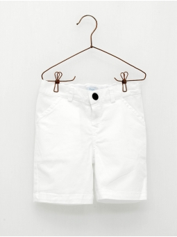 Canvas 4-pocket boy shorts
