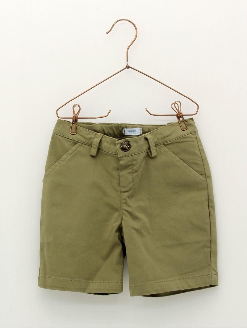 Pantalón niño corto de loneta varios colores