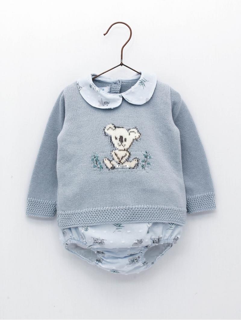 Camisola bebé criança desenho koala e cuequinha