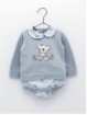 Baby boy sweater with koala and bloomers