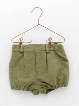 Baby boy bloomer shorts in sweatshirt fabric
