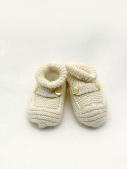 Patuco bebé punto tipo botita