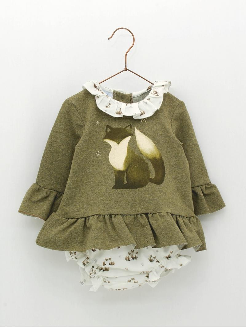 Set de bebé criança de camisola e cuequinha estampado zorrito