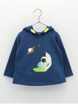 Sudaderaba bebé criança Astronauta