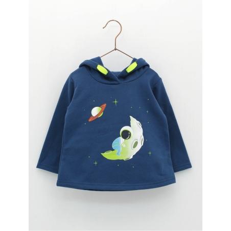 Sudaderaba bebé niño Astronauta
