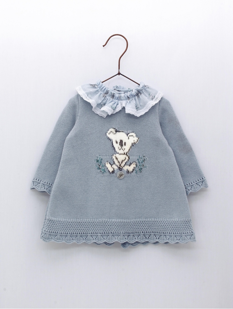 Vestido bebé niña punto Koala