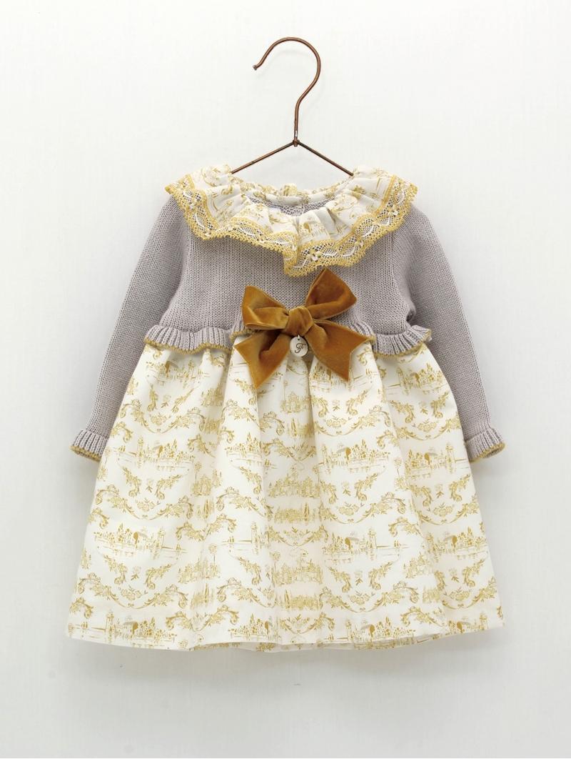 Vestido faldón bebé criança