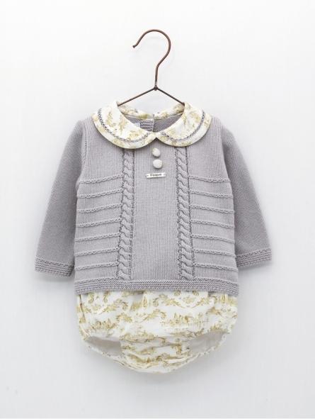 Set camisola desenhada e cuequinha estamapda