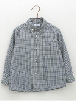 Checked boy shirt