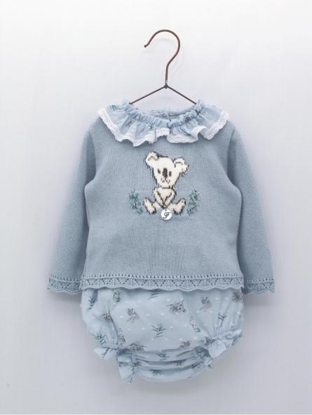 Conjunto estampado bebé niña